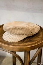 Ribbed Velvet Cap