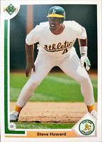 MLBカード 91UPPERDECK Steve Howard #277 ATHLETICS