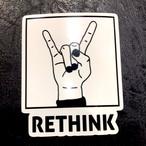マリアパステッカー「RETHINK」