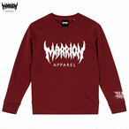 MARRION APPAREL LOGO SWEAT (Burgundy)