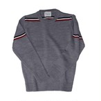 tricolore spring knit grey