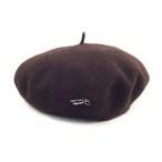 JS ベレー帽/ブラウン