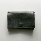 〈MINIMALIGHT〉PLAY WALLET LEATHER(BLACK)