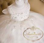kids dress babydress かわいい ピアノ発表会 演奏会 綺麗 white ホワイト おんなのこ プリンセス