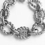 """SONIA RYKIEL"" gold bracelet[h-74]"