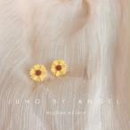 【小物】清新可愛いスウィート花・植物シルバー925ピアス