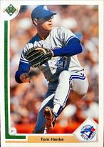 MLBカード 91UPPERDECK Tom Henke #149 BLUEJAYS