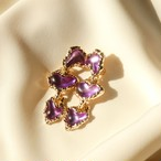 80s Vintage Stock: The Lucienne Earring 〜光を添える〜:::クーポン適用外アイテムです。:::