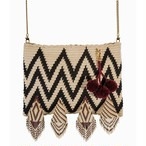 【Pre-order】ワユーバッグ (Wayuu Bag) Luxe line With Bead Art G