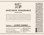INCENSE STICKS / Lavender Chamomile