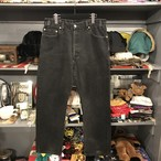 00s 505 Black Denim Pants