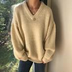 【tops】大好評無地柔らかいニットセーター