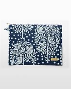 ファスナーポーチ(iPadケース) 「鳥と樹」