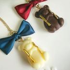 はらぺこくまのチョコレートネックレス