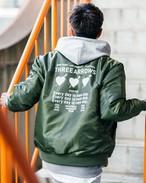 TREE HEART MA-1 (khaki)