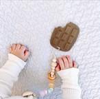 シリコン 歯固め〔chocolate teether toy〕