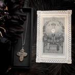 十字架のメダイとホーリーカード