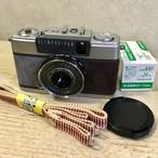 リメイクカメラ OLYMPUS PEN-EE2(グレー・ダークブラウン)