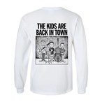 "【受注生産】""THE KIDS ARE BACK IN TOWN"" L/S Tee WHITE"