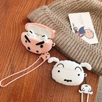 Cute Dog Pig airpods1/2 Pro case
