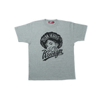 K'rooklyn T-Shirt × 上岡 拓也 - Gray (ZELDA HARRIS)