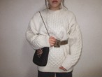 Vintage Irish cable knit Fisherman