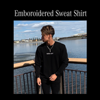 Emboroiderd Sweat Shirt