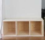 【受注生産品】モンテッソーリの先生と絵本屋さんが作った絵本棚の専用の後付けできる棚(下1段のみ)