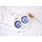 【 印判手塩皿 - 筍 - 】小皿 / antique / vintage / japan