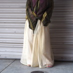 【RehersalL】mesh skirt(yellow) /【リハーズオール】メッシュスカート(yellow)