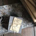 コーヒー染めオリジナルラベル第2弾!「Étiquette de livre(図書ラベル)」