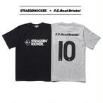 【70枚限定商品】STRASSENKICKER × F.C.Real Bristol NUMBER10 TEE