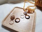 べっこうリング3点セット リング 指輪 韓国ファッション