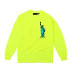 MOANDMO  L/S Souvenir Tee (Neon Yellow)