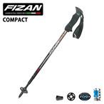 58cm-132cm FIZAN フィザン トレッキングポール トレール トレイル  登山 T03-56W