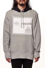 【TECHNO BREAK】 French Terry Sweat Color Combination Pullover Parker DJ FUMMY Collaboration GL