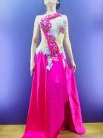 ベリーダンス衣装 ピンク