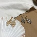 ダイヤビジューピアス ピアス 韓国ファッション