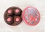 カヌレ♡乙女可愛いカメオ缶セットにリニューアル・・・話題のルビーチョコレートのトッピング付き♪