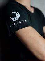 【限定モデル】半袖/ブラック/右肩ホワイト | MIRAXMA-ミライイマ-