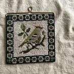 鳥の編み絵3