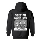 "【受注生産】""THE KIDS ARE BACK IN TOWN"" Parka BLACK"