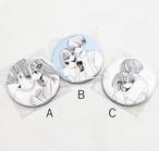 ふせでぃ / 缶バッチ3種(A~C)