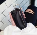 【お取り寄せ商品、送料無料】お洒落なジッパーケース付 iPhoneケース