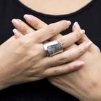 ※父の日カードプレゼント対象商品【全国送料無料】TIN BREATH Ring Silver 20mm