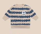 BOBO CHOSES ボボショセス Columns Sweatshirt size:12-18M(80-90)~18-24M(90-100)