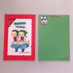 POST CARD「魚と双子」no.144