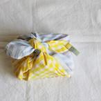 ひとりで包めるようになる お弁当包み 刺繍入