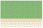 【ガラス用】 アラベスク グリーン A3サイズ(ポーセリンアート用転写紙 モロッカングラス)