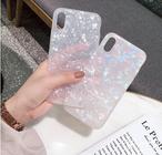 【オーダー商品】シェルパターン シンプル かわいい iphoneケース 大人かわいい ファッション ガーリー 秋冬